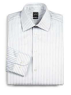 Ike Behar - Wide-Stripe Dress Shirt