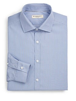 Burberry London - Sandforth Mini-Gingham Dress Shirt