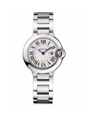 Ballon Bleu de Cartier Small Stainless Steel Bracelet Watch