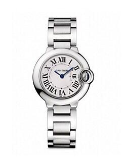 Cartier - Ballon Bleu de Cartier Stainless Steel Bracelet Watch, Small