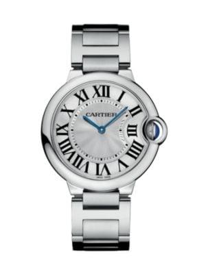 Ballon Bleu de Cartier Medium Stainless Steel Bracelet Watch 0417113829594