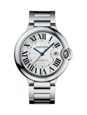 Ballon Bleu de Cartier Large Stainless Steel Bracelet Watch