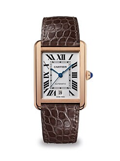 Cartier - Tank Solo 18K Pink Gold Extra-Large Watch