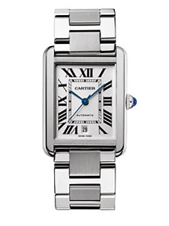 Cartier - Stainless Steel Extra-Large Bracelet Watch