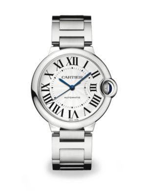 Ballon Bleu de Cartier Stainless Steel Automatic Bracelet Watch