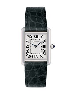 Cartier - Tank Solo Stainless Steel on Strap, Small