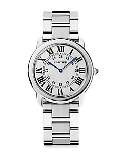 Cartier - Ronde Solo Stainless Steel Bracelet, Large