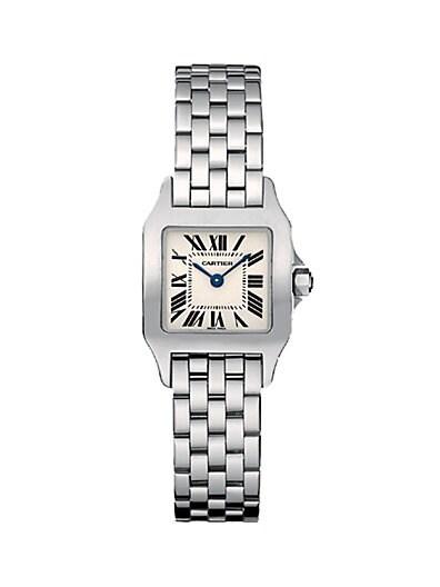 Sale alerts for Cartier Santos Demoiselle Stainless Steel Bracelet Watch, Small - Covvet