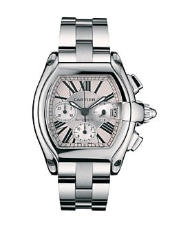 Cartier - Roadster Stainless Steel Extra-Large Automatic Chronograph Bracelet Watch