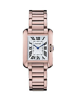 Cartier - Tank Anglaise 18K Pink Gold Watch