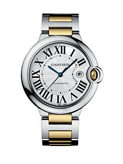 Cartier - Ballon Bleu de Cartier Steel and Yellow Gold Watch on Bracelet, Large
