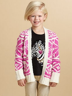 Juicy Couture - Toddler's & Little Girl's Snowflake Cardigan