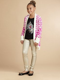 Juicy Couture - Girl's Snowflake Cardigan