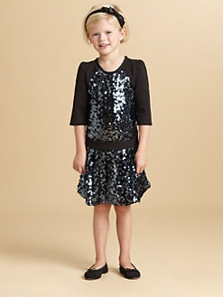 Juicy Couture - Toddler's & Little Girl's Sequin Embellished Dress