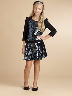 Juicy Couture - Girl's Sequin Embellished Dress