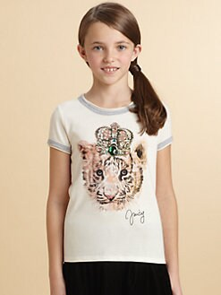 Juicy Couture - Girl's Tiger King Tee