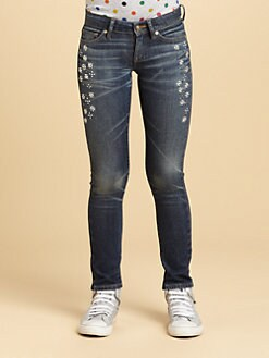 Juicy Couture - Girl's Embellished Skinny Jeans
