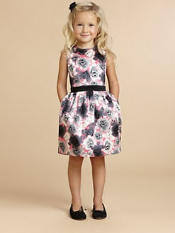 Juicy Couture - Toddler's & Little Girl's Graphic Rose Dress