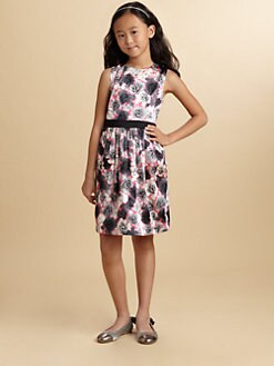 Juicy Couture - Girl's Graphic Rose Dress