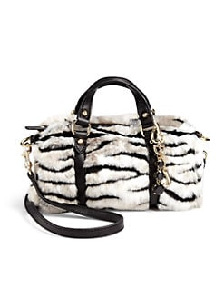 Juicy Couture - Girl's Ziger Faux Fur Mini Bag