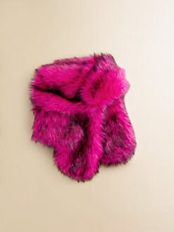 Juicy Couture - Girl's Faux Fur Hat