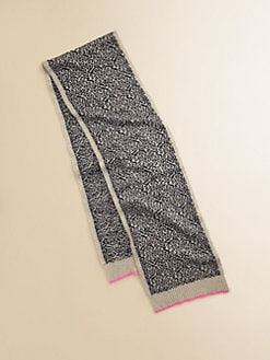 Juicy Couture - Girl's Snow Leopard Scarf