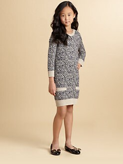 Juicy Couture - Girl's Snow Leopard Sweater Dress