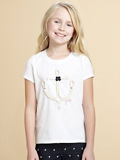 Juicy Couture - Girl's Rope Anchor Tee