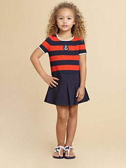 Juicy Couture - Toddler's & Little Girl's Striped Knit Dress