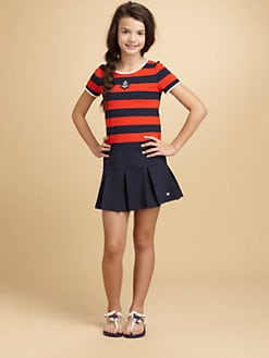 Juicy Couture - Girl's Striped Knit Dress