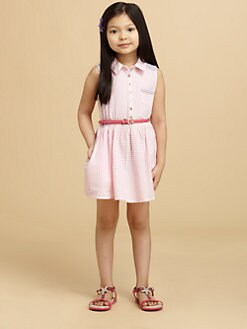 Juicy Couture - Toddler's & Little Girl's Seersucker Dress