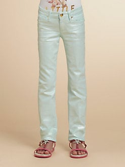 Juicy Couture - Girl's Skinny Luster Jeans