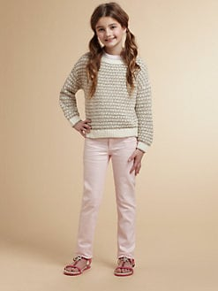 Juicy Couture - Girl's Metallic Pullover Sweater