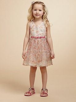 Juicy Couture - Toddler's & Little Girl's Floral Organza Dress