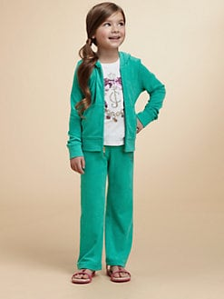 Juicy Couture - Toddler's & Little Girl's Embellished Terry Hoodie
