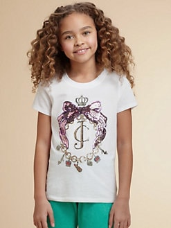 Juicy Couture - Girl's Embellished Tee