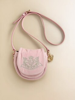 Juicy Couture - Girl's Velour Crossbody Bag