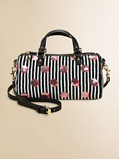 Juicy Couture - Girl's Sequined Dot Mini Satchel