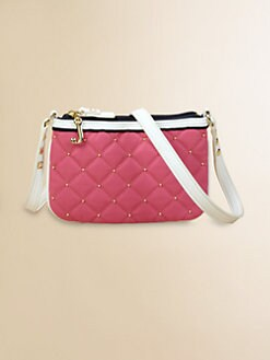 Juicy Couture - Girl's Quilted Nylon Crossbody Bag