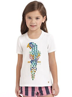 Juicy Couture - Toddler's & Little Girl's Parrot Bling Tee