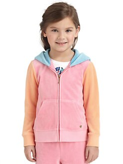 Juicy Couture - Toddler's & Little Girl's Colorblock Hoodie