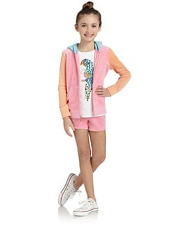 Juicy Couture - Girl's Colorblock Hoodie
