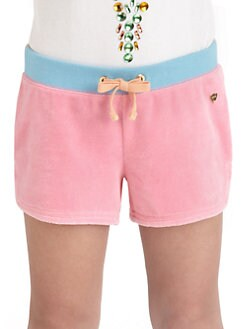 Juicy Couture - Toddler's & Little Girl's Colorblock Shorts