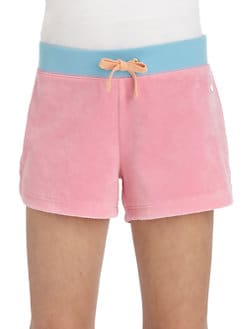 Juicy Couture - Girl's Colorblock Terry Shorts