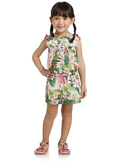 Juicy Couture - Toddler's & Little Girl's Floral Romper