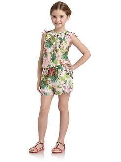 Juicy Couture - Girl's Floral Romper