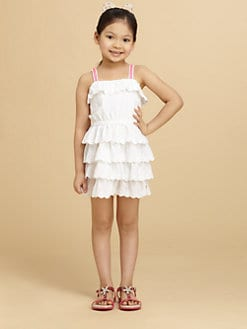 Juicy Couture - Toddler's & Girl's Ruffled Eyelet Dress