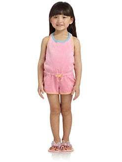 Juicy Couture - Toddler's & Little Girl's Colorblock Romper