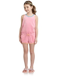 Juicy Couture - Girl's Colorblock Romper