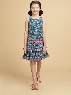 Juicy Couture - Girl's Mini Ruffle Dress